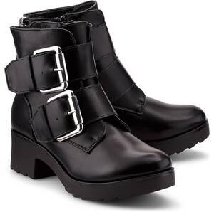 Another A, Plateau-Boots in schwarz, Stiefeletten für Damen