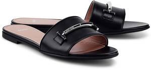 BOSS, Pantolette Lara in schwarz, Sandalen für Damen