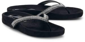 Belmondo, Fashion-Zehentrenner in schwarz, Sandalen für Damen