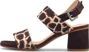Belmondo, Fashion-Sandalette in mittelbraun, Sandalen für Damen