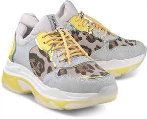 Bronx, Sneaker Baisley in gelb, Sneaker für Damen