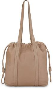 COX, Leder-Shopper in beige, Shopper für Damen