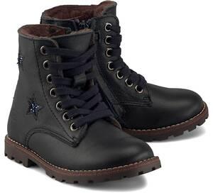 Clic, Schnür-Boots in dunkelblau, Stiefel für Mädchen