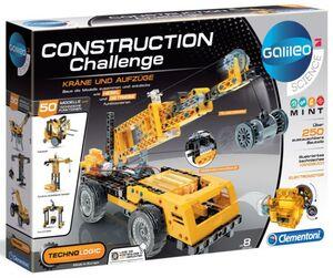 Galileo Science - Construction Challenge - Kräne und Aufzüge - Clementoni