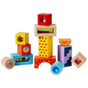 Eichhorn Klangbausteine aus Holz