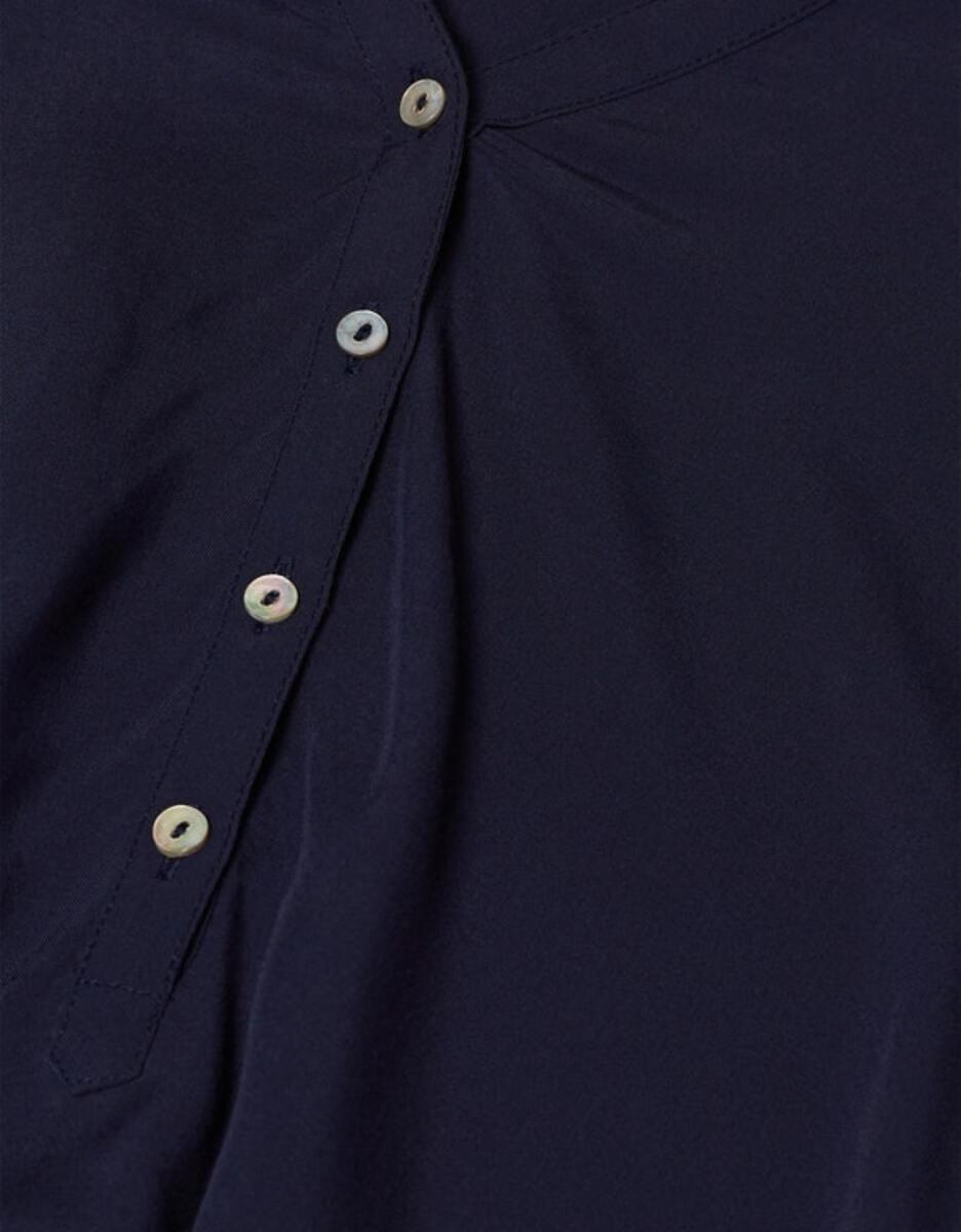 Bild 4 von Esprit - Bluse mit Turn-up-Ärmeln
