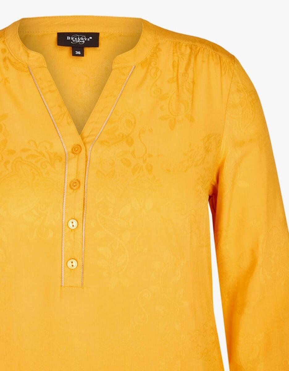 Bild 3 von Bexleys woman - Jacquard-Bluse mit Kettenbesatz