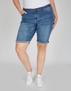 Thea - Jeans-Bermuda-Hose, 5-Pocket