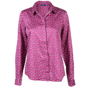 Damen Bluse mit Allover Print