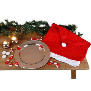Set Tischdekoration Weihnachten