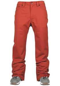L1 Straight Standard - Snowboardhose für Herren - Rot