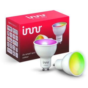 Innr GU10 Smart LED Spot Color RS 230C-2 Works with Philips Hue*, Alexa, Google Home, SmartThings (Bridge erforderlich) dimmbar