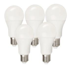 essentials 5er Pack WLAN Glühbirne für Smart Home 10W, Alexa kompatibel, E27