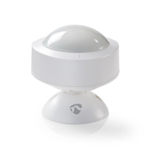 Nedis WLAN Smart Bewegungsmelder (WIFISM10WT) - Kabelgebunden, Innenbereich, USB-Stecker