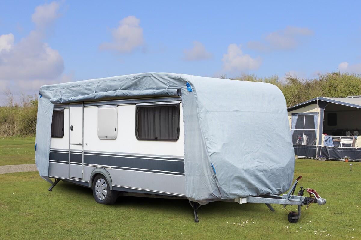 Bild 2 von Diamond Car Wohnwagen / Wohnmobil Schutzhülle L, ca. 610 x 250 x 220 cm