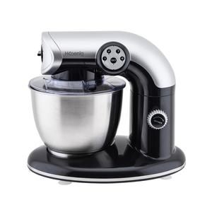 H.Koenig Küchenmaschine KM80 mit 4 Geschwindigkeiten, schwarz