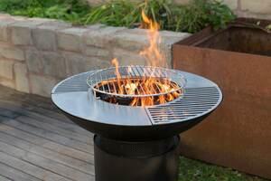 Westmann Grill, Plancha und Feuerplatte schwarz
