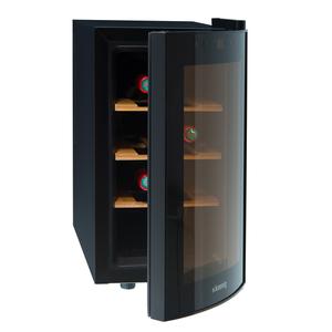 H.Koenig 2-Zonen-Weinkühlschrank AGE8WV für 8 Flaschen