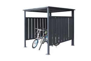 Westmann Fahrrad- und Raucherunterstand anthrazit 180x200 cm