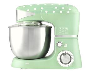 Kalorik Küchenmaschine TKG M 3014 Mint mit weißen Punkten