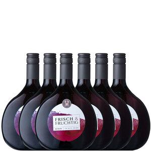 Frisch & Fruchtig Rotwein QbA - 6er Karton