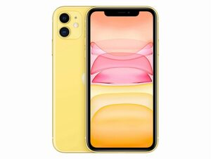Apple iPhone 11, 128 GB, gelb