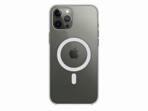 Apple Clear Case mit MagSafe, für iPhone 12 Pro Max, transparent