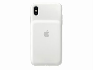 Apple Smart Battery Case, für iPhone XS Max, weiß