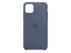 Apple Silikon Case, für iPhone 11 Pro Max, alaskablau