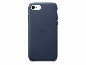 Apple Leder Case, für iPhone SE 2020, mitternachtsblau