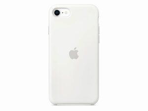 Apple Silikon Case, für iPhone SE 2020, weiß