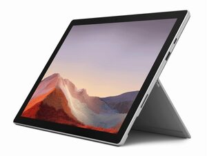 "Microsoft Surface Pro 7, 12"", i3, 4 GB RAM, 128 GB SSD, platin"