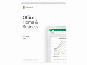 Microsoft Office Home & Business 2019, Product Key Card