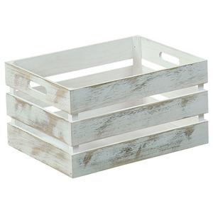 Aufbewahrungsbox 3er-Set Antik-weiß