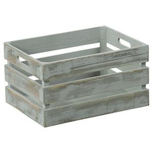 Aufbewahrungsbox 3er-Set Antik-grau