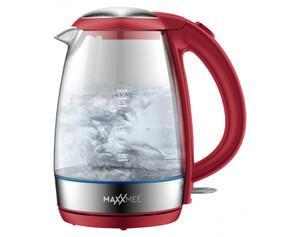 Maxxmee Glas-Wasserkocher 6893 1,7 Liter rot