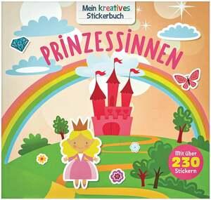 IDEENWELT Stickerbuch Prinzessinen