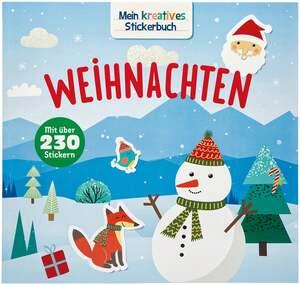 IDEENWELT Stickerbuch Weihnachten