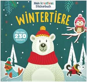 IDEENWELT Stickerbuch Wintertiere