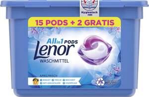 Lenor All-in-1 PODS Waschmittel Aprilfrisch, 17 WL