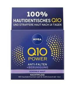 NIVEA Q10 Power Anti-Falten + Beruhigung Nachtpflege Sensitiv