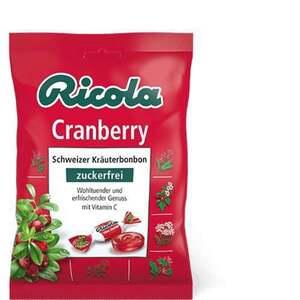 Ricola Cranberry Bonbons zuckerfrei 75g