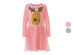 LUPILU® Kleinkinder Kleid Mädchen, mit Tüllrock