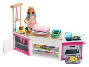 "Barbie ""Cooking & Baking"" Deluxe Küche mit Barbiepuppe"