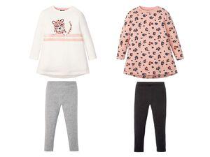 LUPILU® Kleinkinder Sweat-Set Mädchen, mit Baumwolle