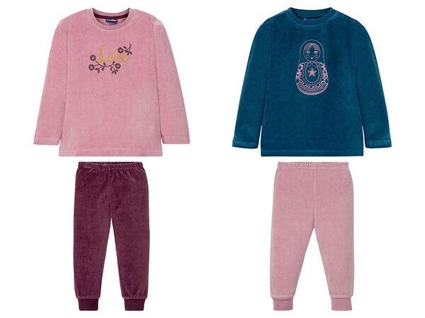 LUPILU® Kleinkinder Schlafanzug Mädchen, mit Baumwolle