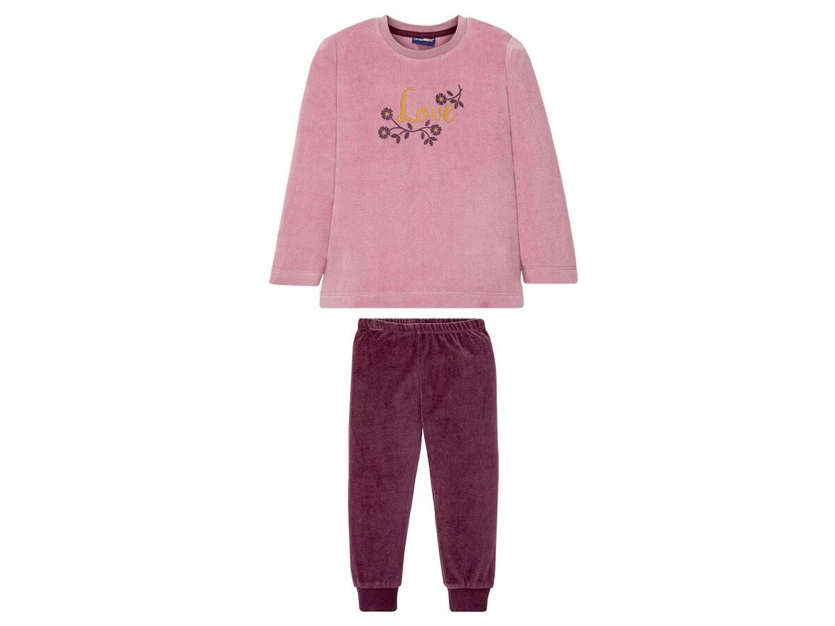 Bild 2 von LUPILU® Kleinkinder Schlafanzug Mädchen, mit Baumwolle