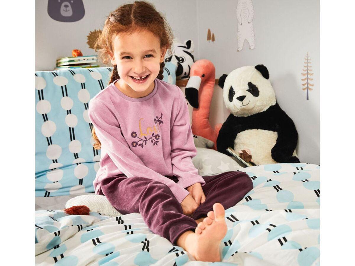 Bild 3 von LUPILU® Kleinkinder Schlafanzug Mädchen, mit Baumwolle