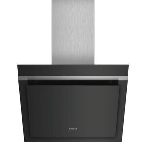 SIEMENS Wandesse LC67KHM60 - schwarz - Klarglas - 60 cm