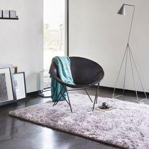 home24 Esprit Teppich New Glamour Silbergrau 200x200 cm (BxT) Kunstfaser